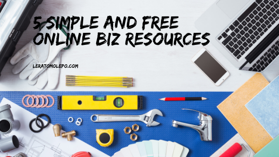 5 simple and free online biz resources